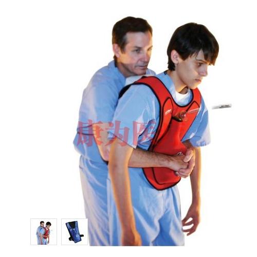 德国3B Scientific®行动+快速急救模拟背心 蓝色
