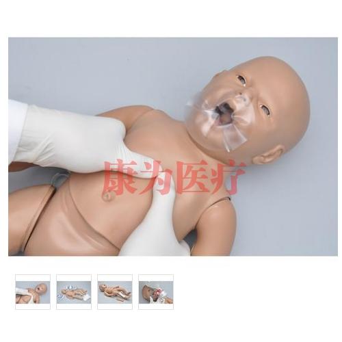德国3B Scientific®新生儿CPR和综合护理威廉希尔,带控制器,增加胫骨穿刺和静脉通路