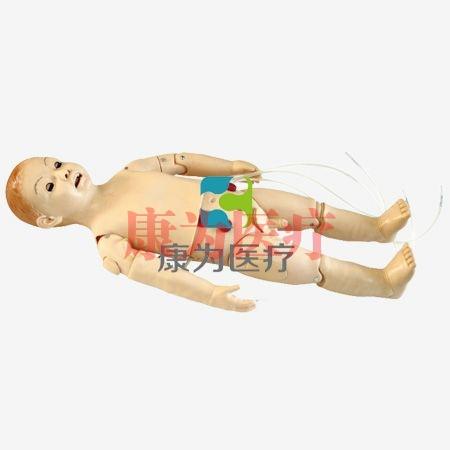 【康为医疗】多功能三岁儿童护理模拟人