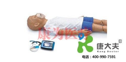 5岁儿童心肺复苏+OMNI控制盒