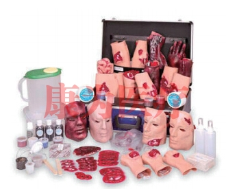 全套E.M.T.外伤模拟元件(E.M.T. Casualty Simulation Kit)
