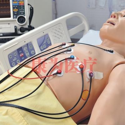 心电图诊断治疗模拟人 Cardio HAL®
