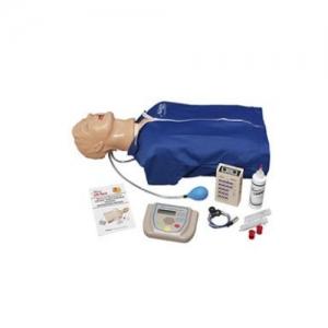 """德国3B Scientific®高级""""Airway Larry""""气道管理躯干威廉希尔,具有除颤特征、ECG模拟和 AED训练功能"""