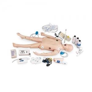 Life/form® 豪华型儿童 CRiSis™ 人体威廉希尔,带ECG模拟装置