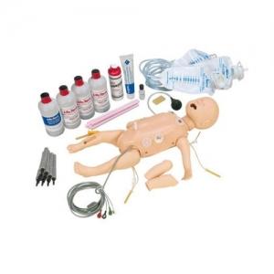 德国3B Scientific®全功能婴儿急救人体威廉希尔,带交互式ECG模拟装置
