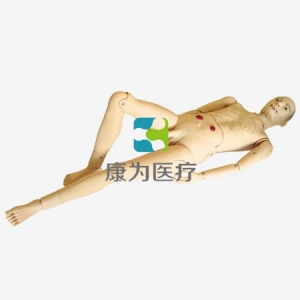 """""""康为医疗""""老年人关爱护理模型,高级全功能老年护理人模型(男性)大赛产品"""