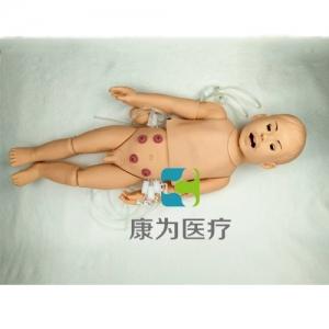 """""""康为医疗""""全功能幼儿护理训练标准化模拟病人,幼儿护理及CPR操作模拟人"""