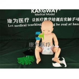 """""""康为医疗""""标准型智能婴儿互动照料Manbo万博体育,新生儿护理模拟人(男婴)(女婴)"""