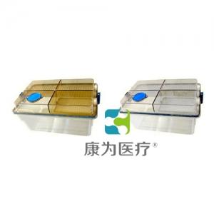 """""""康为医疗""""大鼠笼盒(内置式水瓶)CAU-1"""
