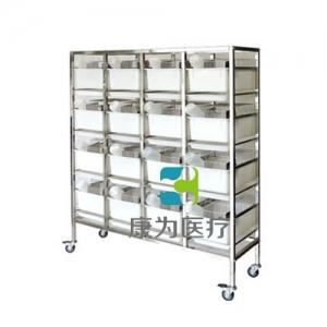 """""""康为医疗""""不锈钢干养式大鼠实验笼架(R-1型16笼 ,R-3型16笼)"""