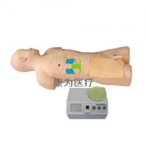 """""""康为医疗""""股动脉穿刺模拟人,高仿真TPE股动脉自动搏动穿刺标准化模拟病人,股动脉自动搏动穿刺模型"""