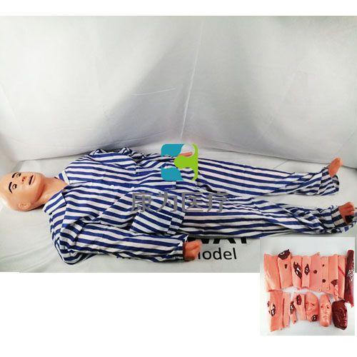 高级创伤救护包扎搬运标准化模拟人